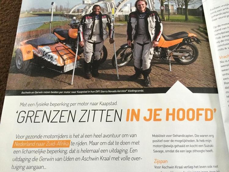 Interview in Motodrive